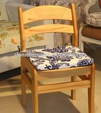 high quality beautiful printed memory foam seat cushion