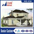 Villa de aço projetos, casa pré-fabricada light gauge steel casa estrutura, luxo moderno prefab villa de aço leve