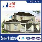 steel villa projects,prefab light gauge steel structure house ,modern luxury prefab light steel villa