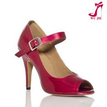 latest design ladies high heels/latin salsa dance shoes