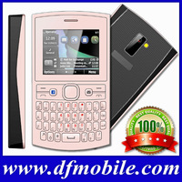 "2014 2.2"" GPRS FM Bluetooth Quad Band Dual Sim Tv Gsm Mobile Phones Qwerty Keyboard Handphone Asha205"
