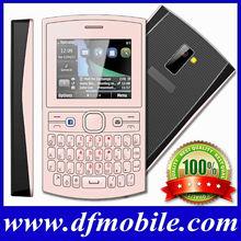 "2014 2.2"" GPRS FM Bluetooth Quad Band Dual Sim Tv Gsm Mobile Phones Qwerty Keyboard Handphone Asha205"