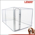 7.5'x13'x6' large cheap chain link dog kennel panels