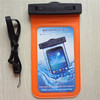 Orange Waterproof Pouch Dry Bag Protector Skin Underwater Case Cover For iPhone 4S 5 5S