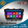 2 din car multimedia player for Kia Sorento new 2013 with DVD GPS radio bluetooth, new win8 UI