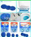 3pc azul- burbuja al ras del bloque toilet bowl cleaner/fragancia azul sólido bloque de auto limpiador de wc