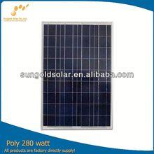 Direct factory sale amorphous silicon thin film solar panel