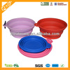 china supplier hot sale novelty promotion durable food grade silicone travel bowl