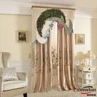High Quality Custom european style window curtains