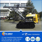 Portable water well drilling rig
