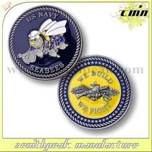 New design cheap metal coin,metal souvenir coin,play metal coin