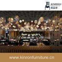 Hot Sale Cafe Table Chair Set Used Bar Furniture Restaurant Design