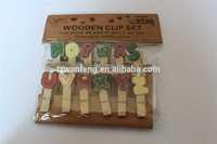 wooden peg art crafts wooden clip rope light clips