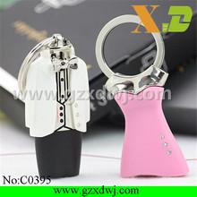 Man and woman beautiful wedding dress key chain promotion gift