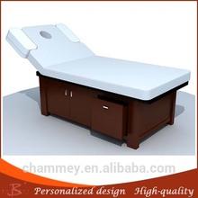 unique classic fantasy hot sale facial spa bed wooden total hospital bed