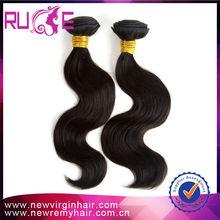 Ruimei wholesale 2015 popular human hair body wave hair grade 6a beauty brazil hair products