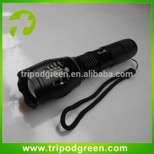 2014 newest style adjustable focus tactical led flashlight