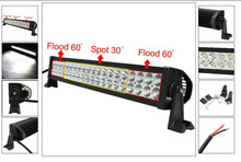22''120w led WORK light bar combo beam alloy 4wd ute driving lamp save on 180w