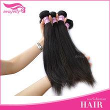 100% human hair silky yaki perm weave