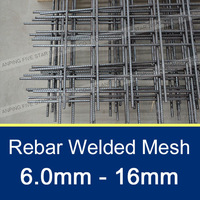 100mm*100mm welded wire mesh for concrete reinforcement sizes