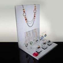 Customized Mirror Acrylic Necklace Display,
