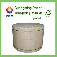 Using for making carton box brown kraft corrugated paper