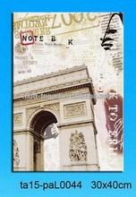 big city triumphal arch led printing canvas