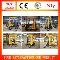 drill rig manufacturer! MT-3 300-600m hard rock borehole tractors drill machine