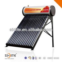 EN12975 Vacuum tube compact pressure solar hot water heaters solar panel 002