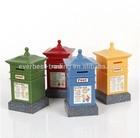 British style mailbox money saving box 24-1-14