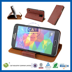 hot selling ultra thin luxury cellphone case leather case for galaxy s5
