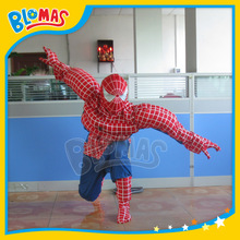 US hero strong muscle spiderman costume for adults