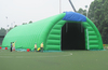 Simple disign cheap inflatable green tent
