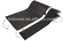 144W customization flexible solar roofing membrane pv laminated amorphous thin film solar panel