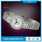 Wholesale fashion luxury lady watches buterfly diamond bracelet watch for women