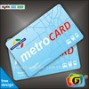 Wireless smart card splitter/contactless smart card