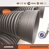 DN200mm SN4 HDPE double wall corrugated DWC pipe/culvert