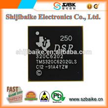 new&original TMS320C6202GLS200 IC FIXED-POINT DSP 384-BGA