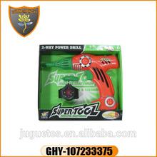 Guanghongyi plastic toy tool box set electric drill