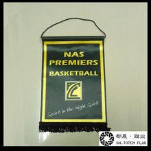 Basket Ball Pennant Flag