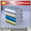 10400mah xiaomi power bank for galaxy note3 /s5/5s power bank