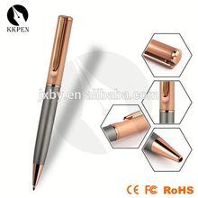 triangle shape pen medical pen torch light promotion metal roller pen