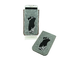 manufacturing latest for Samsung s4 felt phone case mobile accessory