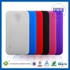 Mix Multi Colors silicone with pc case for samsung s5