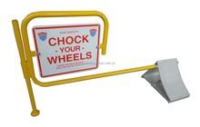 Extruded Aluminum Wheel Chock