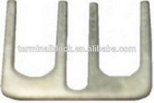 BJ-080A02 2 Pole Pitch 8mm Brass Terminal Block Power Cap Jumper