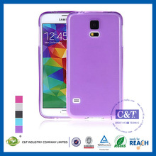 NEW Popular Mobile Phone for samsung galaxy s5 i9600 ultra thin transparent matte tpu case cover
