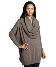 2014 Fashion Ladies Oversize Sexy Cowl Neck Sweater