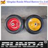wheelbarrow small wheels for carts