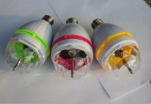 3W / 9W Party Lights RGB LED Rotating Lamp